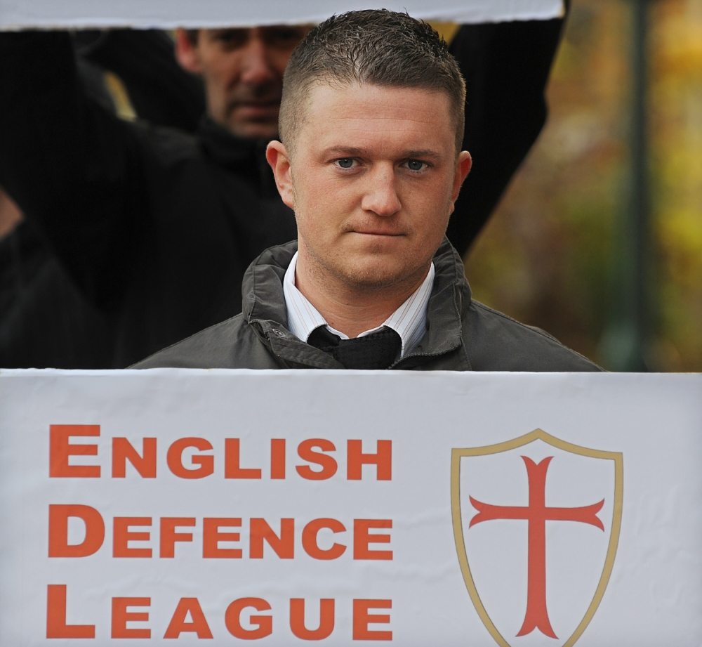 English Defence League leader Stephen Lennon jailed for entering US with someone else's passport