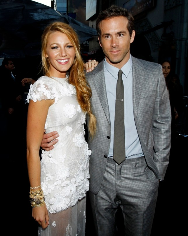 Blake Lively and Ryan Reynolds deny they are expecting their first child (Picture: AP)