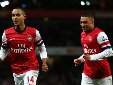 Alex Oxlade-Chamberlain: Arsenal players having lots of laughs over Theo Walcott's contract