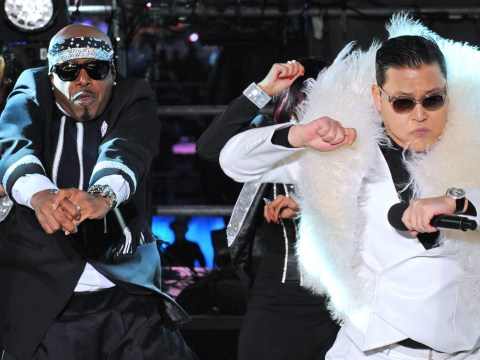 Psy takes Gangnam Style to Times Square stage for New Year celebrations