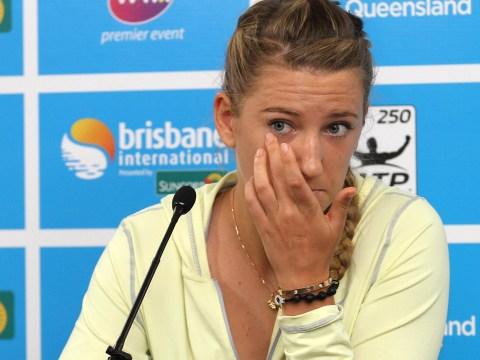Victoria Azarenka pulls out of Brisbane International semi-final after bad pedicure