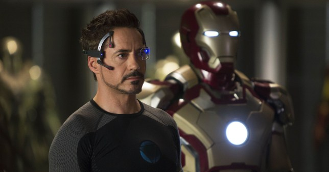 Robert Downey Jr stars as Iron Man once again (Picture: AP/Marvel)