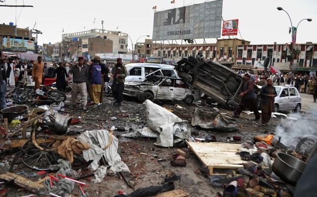 Pakistan bomb blasts, Quetta