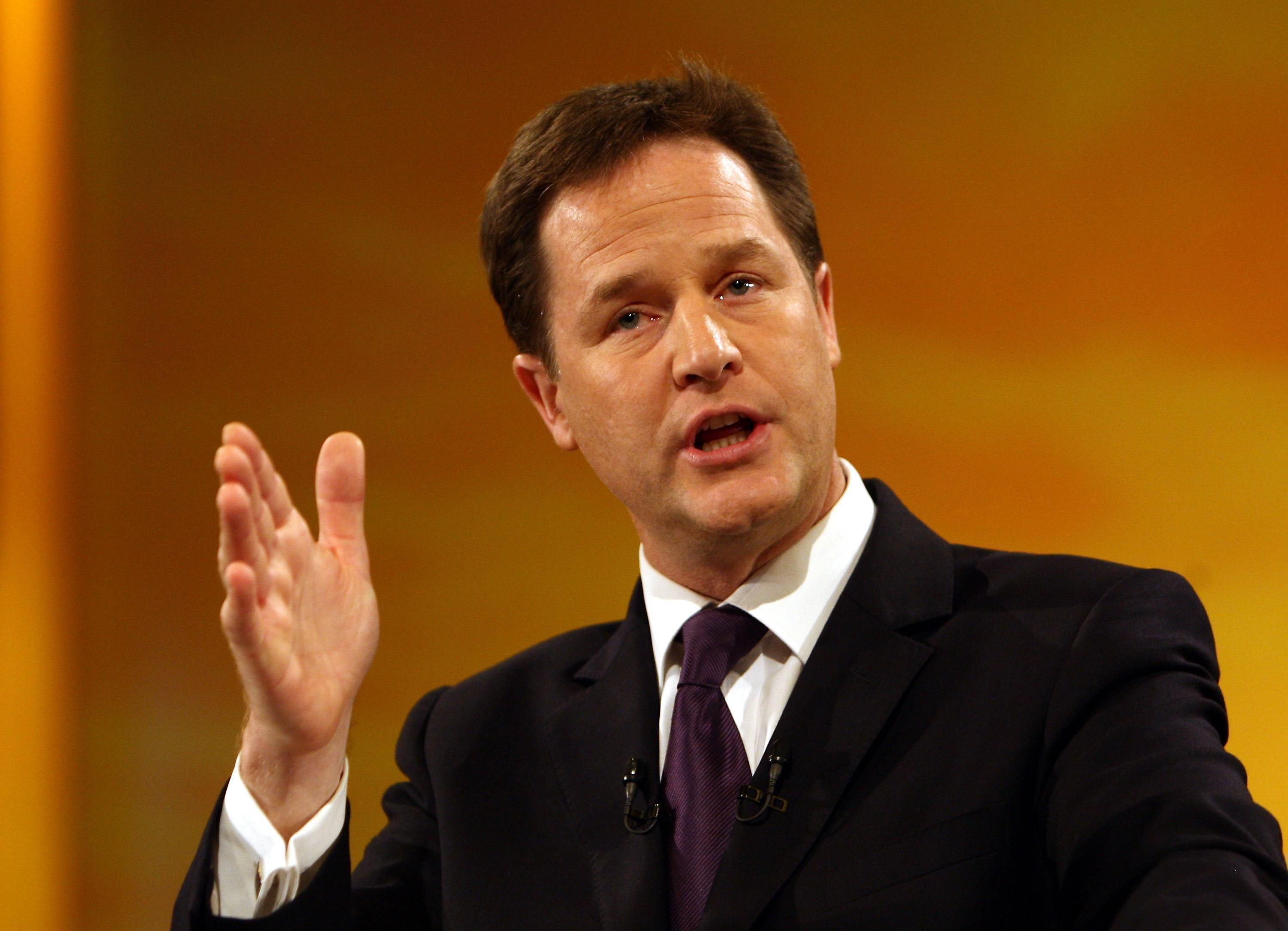 Nick Clegg warning on Europe