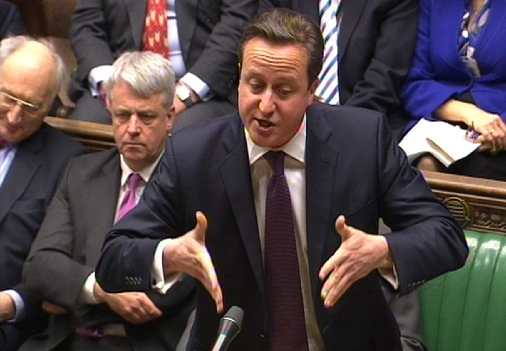 Prime Minister's Questions, David Cameron