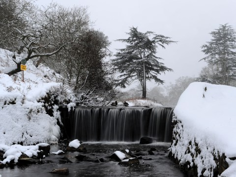 Snow to abate by the weekend… but brace yourselves for further freezing flurries