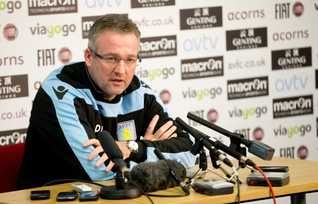 Aston Villa Press Conference