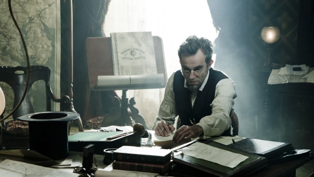 Daniel Day-Lewis is favourite to win the best actor prize at the Oscars for his performance in Lincoln (Picture:)