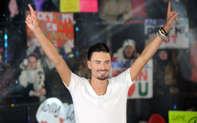 Rylan Clarke is crowned winner of Celebrity Big Brother (Getty)