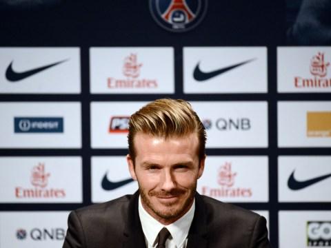 Roy Hodgson hints at England recall for David Beckham after PSG move
