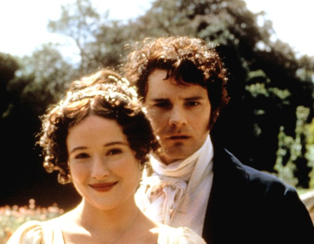 Mass appeal: 18 years on, Jennifer Ehle and Colin Firth still attract new fans (Picture: Rex)