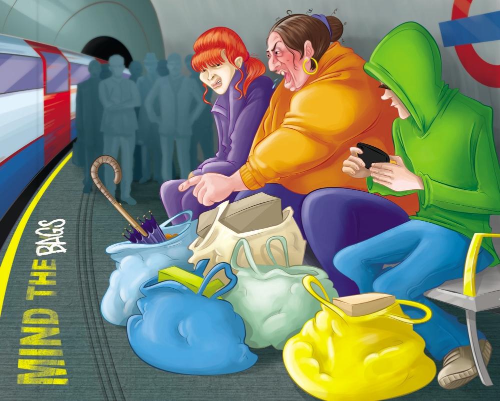 Tube cartoon