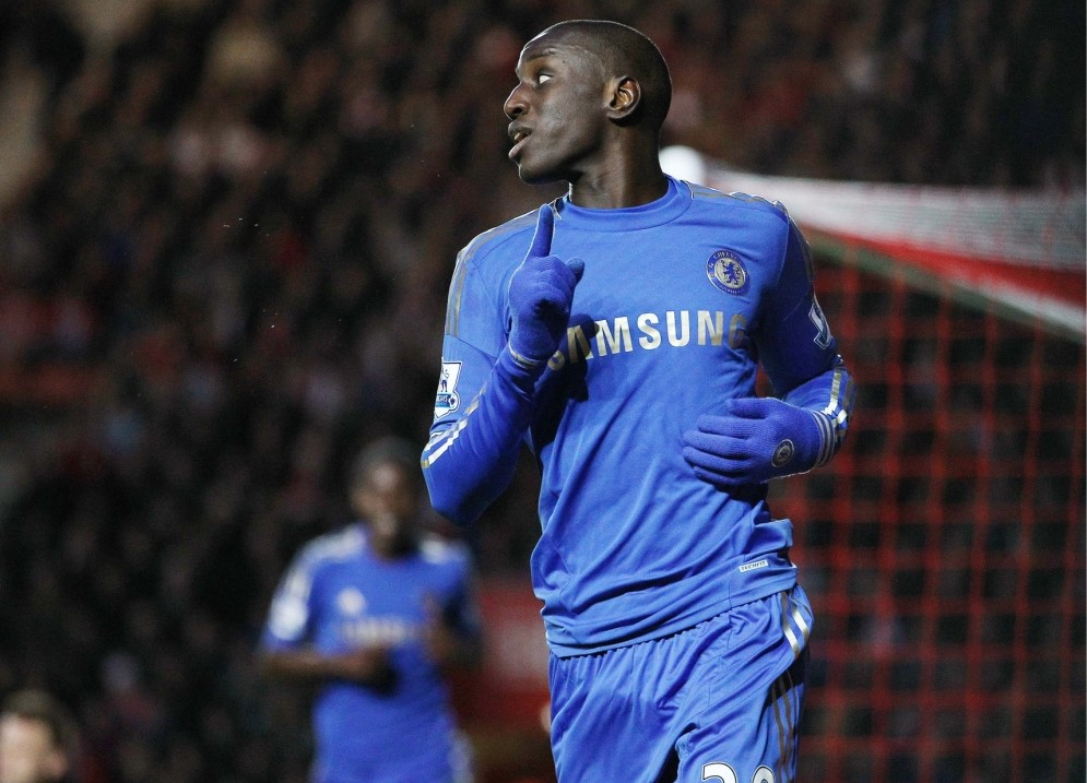 Demba Ba made an instant impression on his Chelsea debut at Southampton (Picture: Reuters/Action Images)