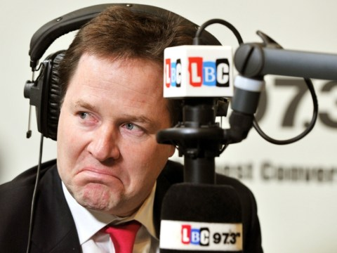Nick Clegg ambushed by journalist who exposed Lord Rennard claims on LBC radio phone-in