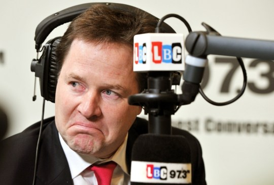 Nick Clegg on LBC 97.3