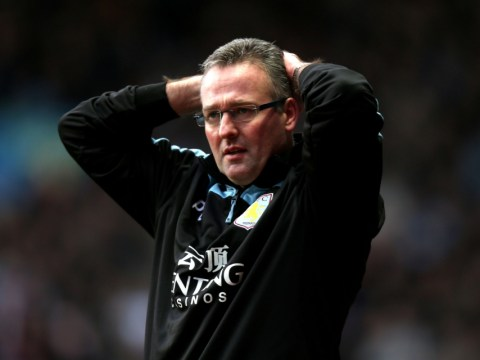 Paul Lambert refuses to push panic button as Aston Villa drop into bottom three