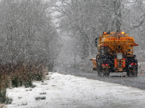 Weather warnings issued with snow set to blanket Britain for a week
