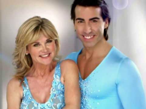 Anthea Turner's Dancing On Ice chances in jeopardy after she pops a rib in rehearsals