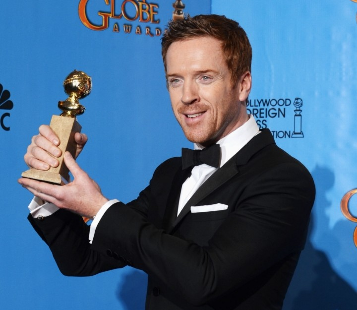 Damian Lewis at Golden Globes