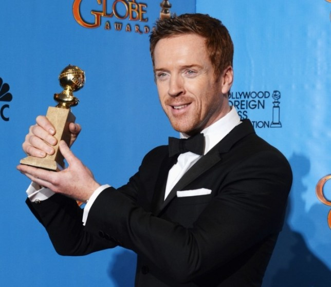 Damian Lewis at Golden Globes