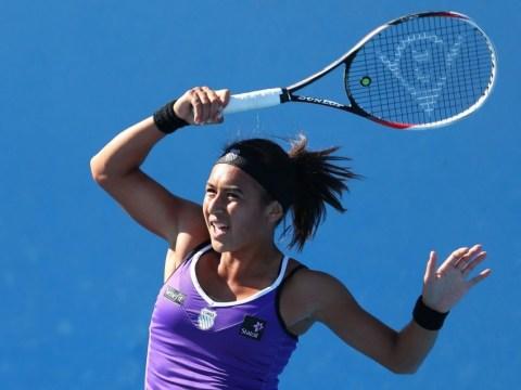 Australian Open: Heather Watson battles back to see off Alexandra Cadantu