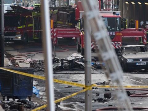 Vauxhall helicopter crash: Eyewitness accounts