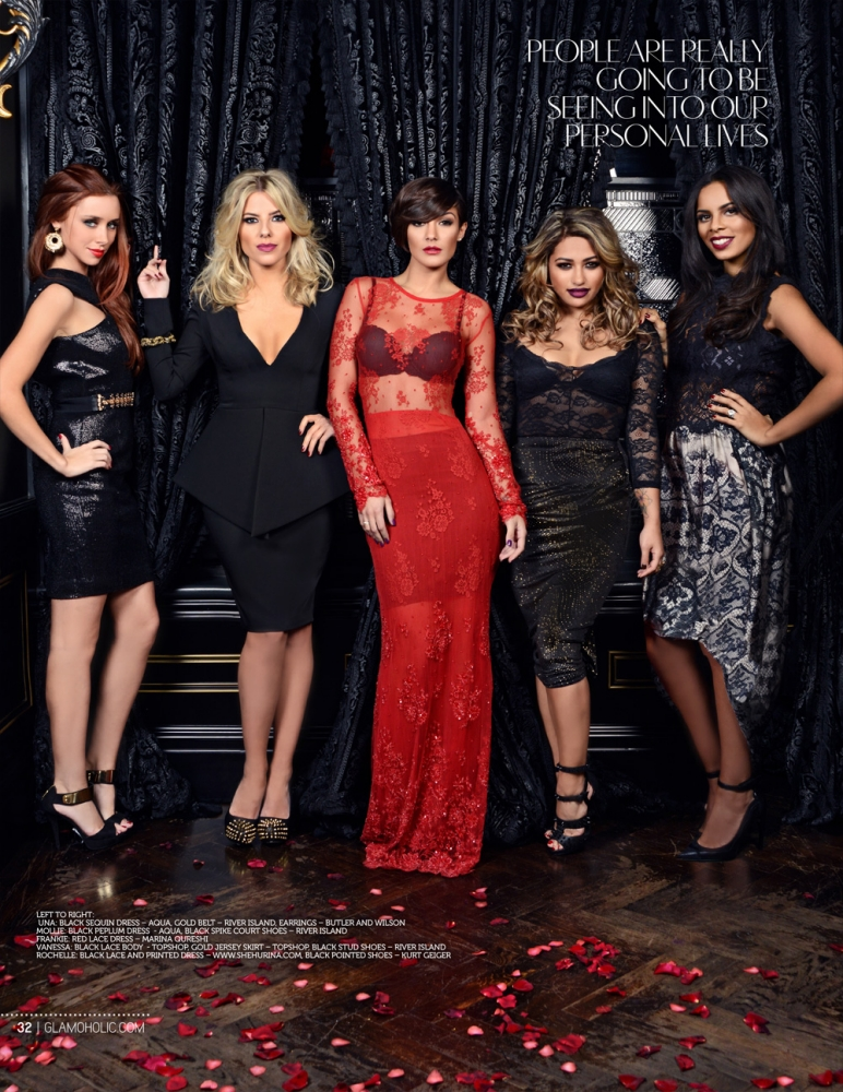 The Saturdays land their first US magazine cover