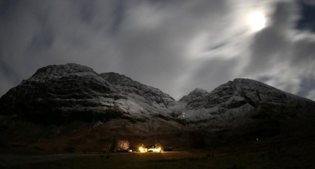 Bidean nam Bian, Glencoe, Scottish Highlands