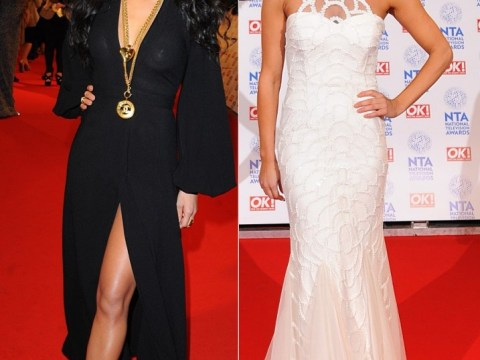 Ashley Roberts outshines Nicole Scherzinger at National Television Awards