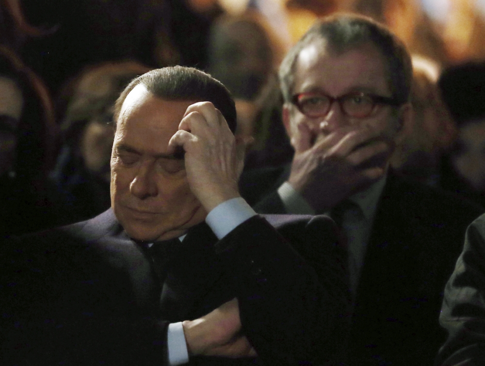 Silvio Berlusconi: Benito Mussolini was a good leader, if you ignore his anti-Jewish laws