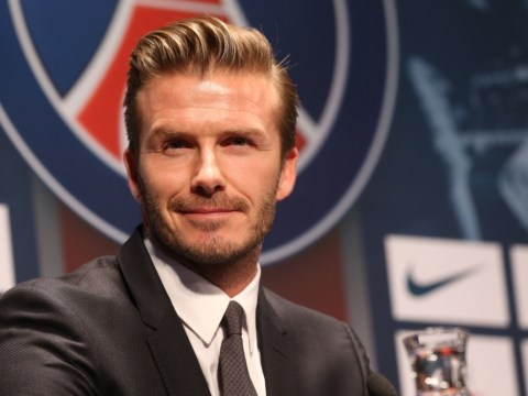 David Beckham confirms plans to donate full PSG salary to charity