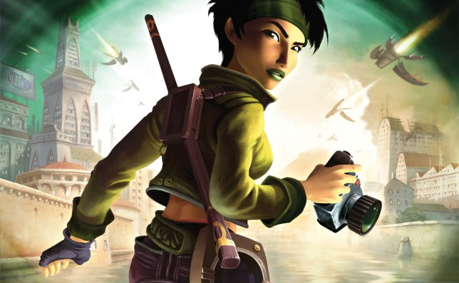Beyond Good & Evil's Jade - a positive female protagonist