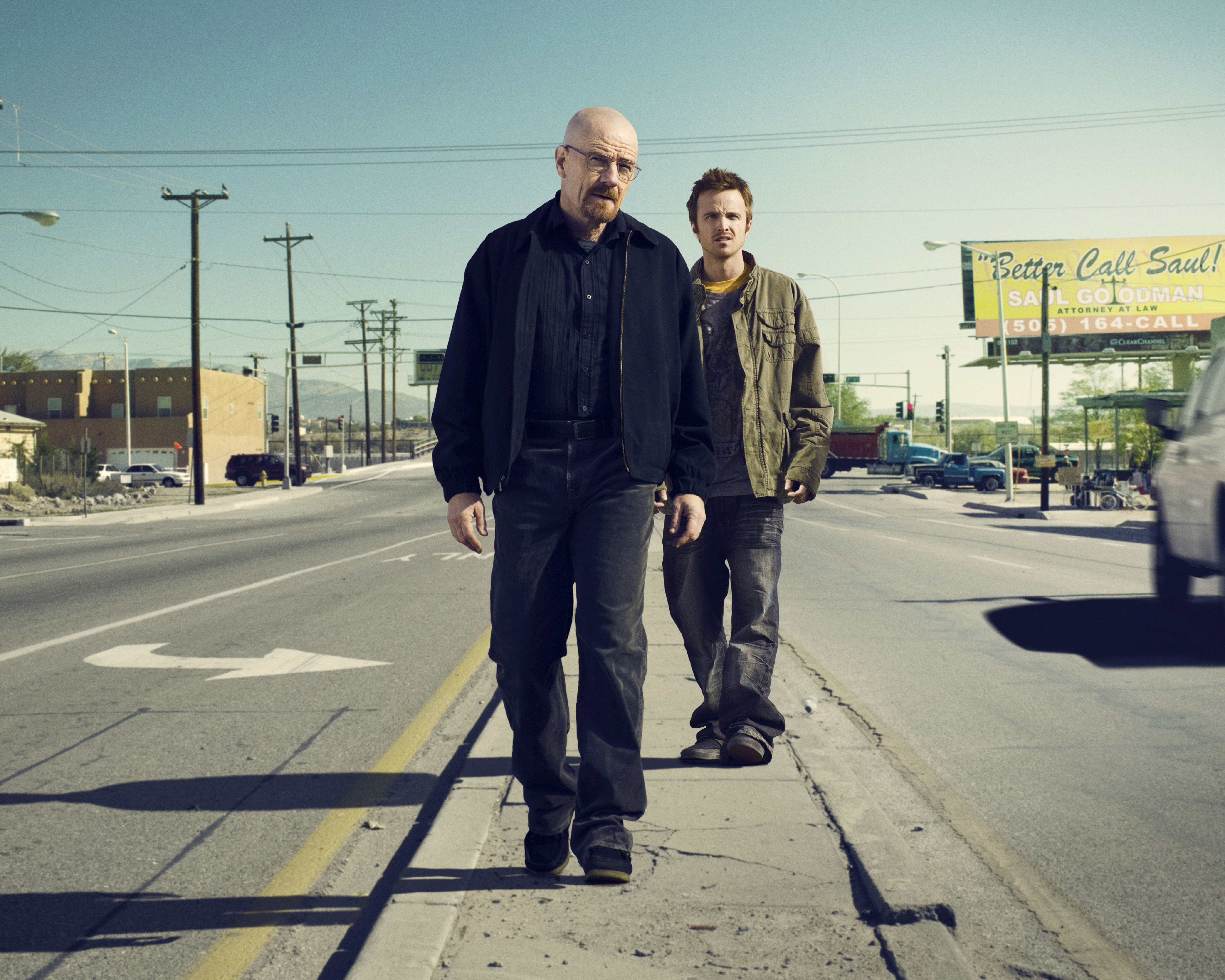 Breaking Bad reaches its climax this summer (Picture: AMC)