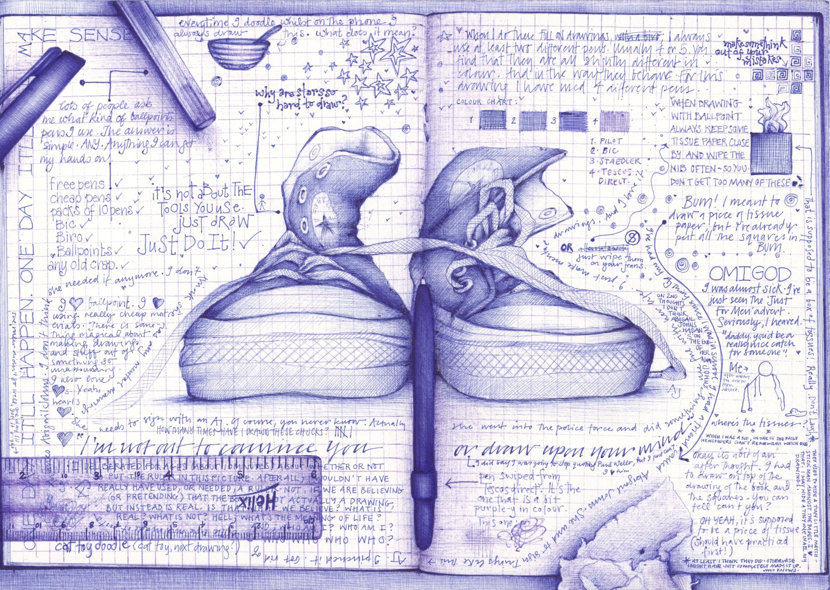 Love Me Doodle… Is doodling good for our brains?
