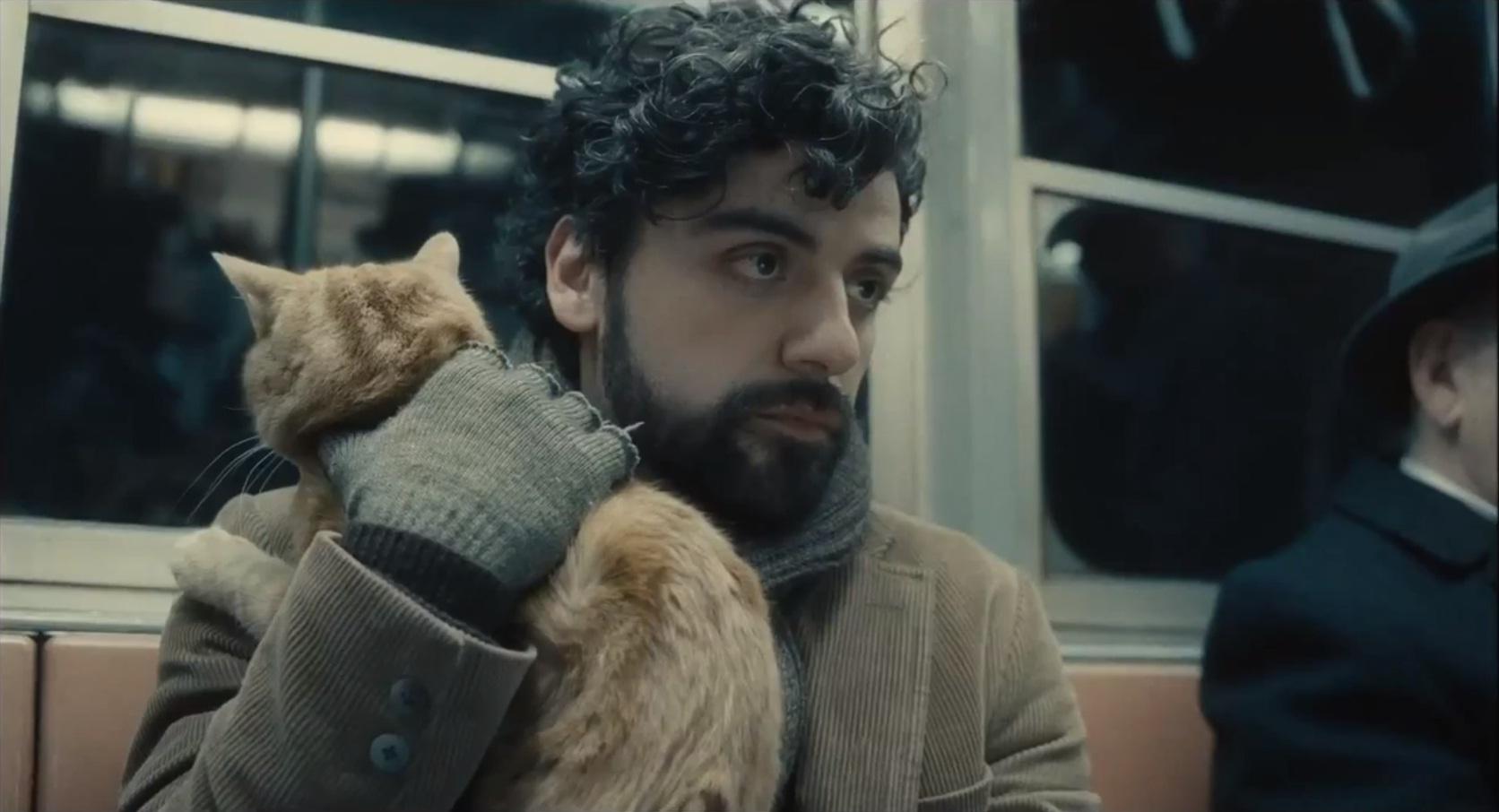 New Inside Llewyn Davis trailer offers fresh glimpse of its cat-carrying folk singer