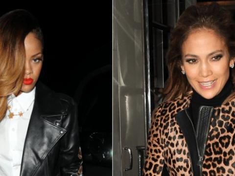 Jennifer Lopez in double-leopard v Rihanna in black leather: Hot or Not