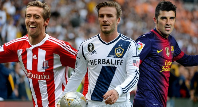 Peter Crouch, David Beckham and David Villa could all seal deadline day moves