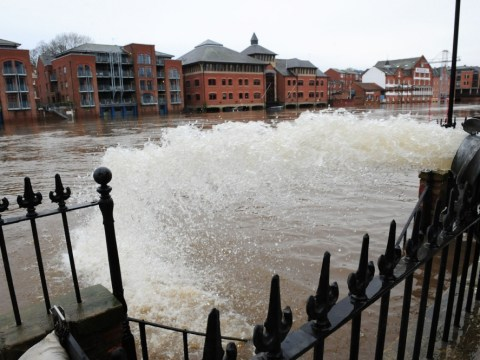Gallery: Winter flooding in the UK 2nd January 2013