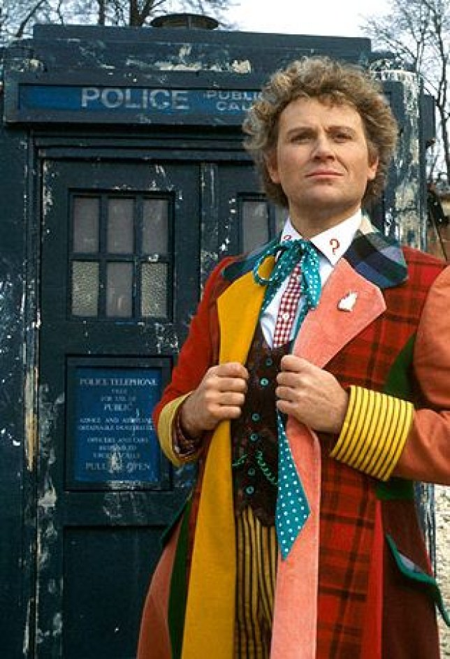 Colin Baker played the Doctor during the '80s (Picture: BBC)