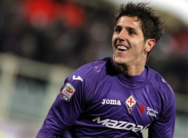 Key man: Fiorentina's Stevan Jovetic (Picture: AP)