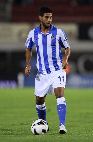 Carlos Vela not ruling out Arsenal return as Gunners scouts look on