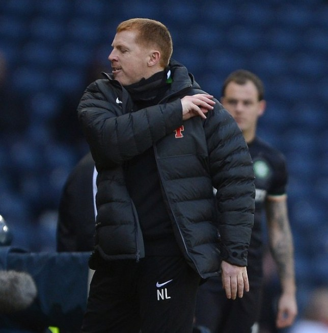 Neil Lennon was unimpressed with the refereeing performance during Celtic's 3-0 defeat to Juventus (Picture: Reuters)
