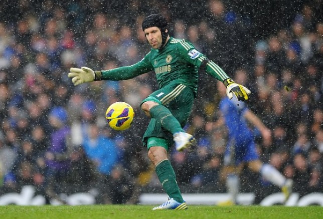 1cae2677547 Petr Cech could be watching from the sidelines again after breaking a  finger against Newcastle (