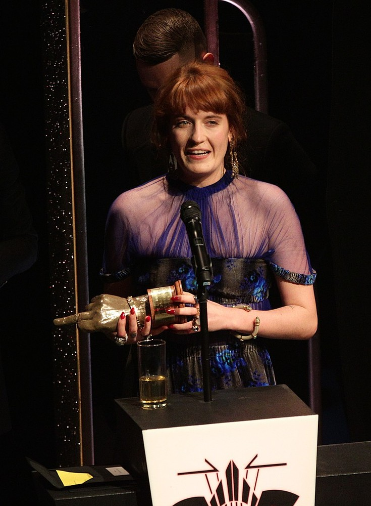 Florence Welch does the double at NME Awards