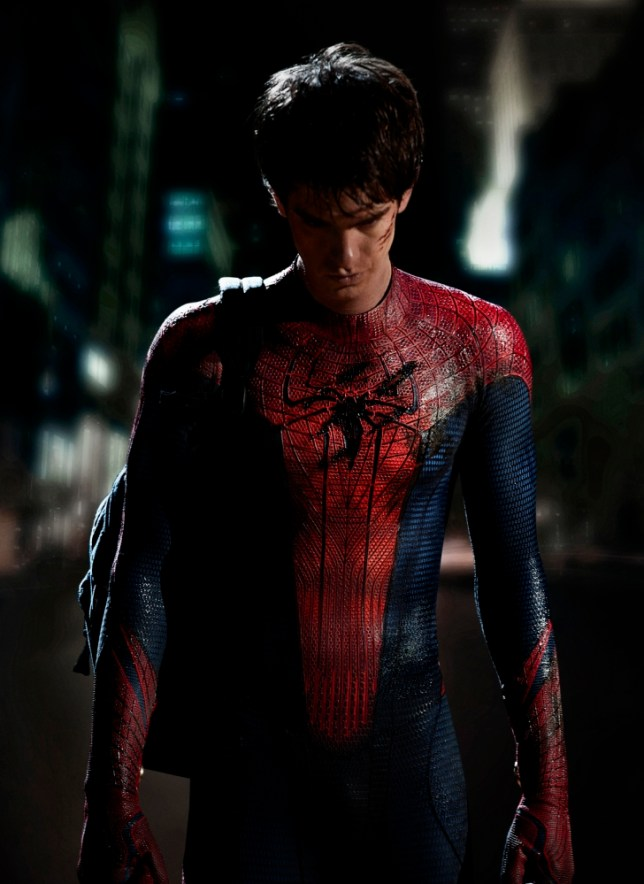 The Amazing Spider-Man 2 sees Andrew Garfield reprise his role as Peter Parker (Picture: Columbia Pictures)