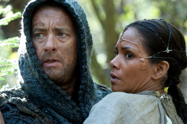 Tom Hanks and Halle Berry in Cloud Atlas (Picture: AP)