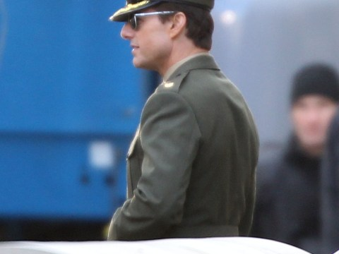 Tom Cruise returns to London for All You Need Is Kill shoot