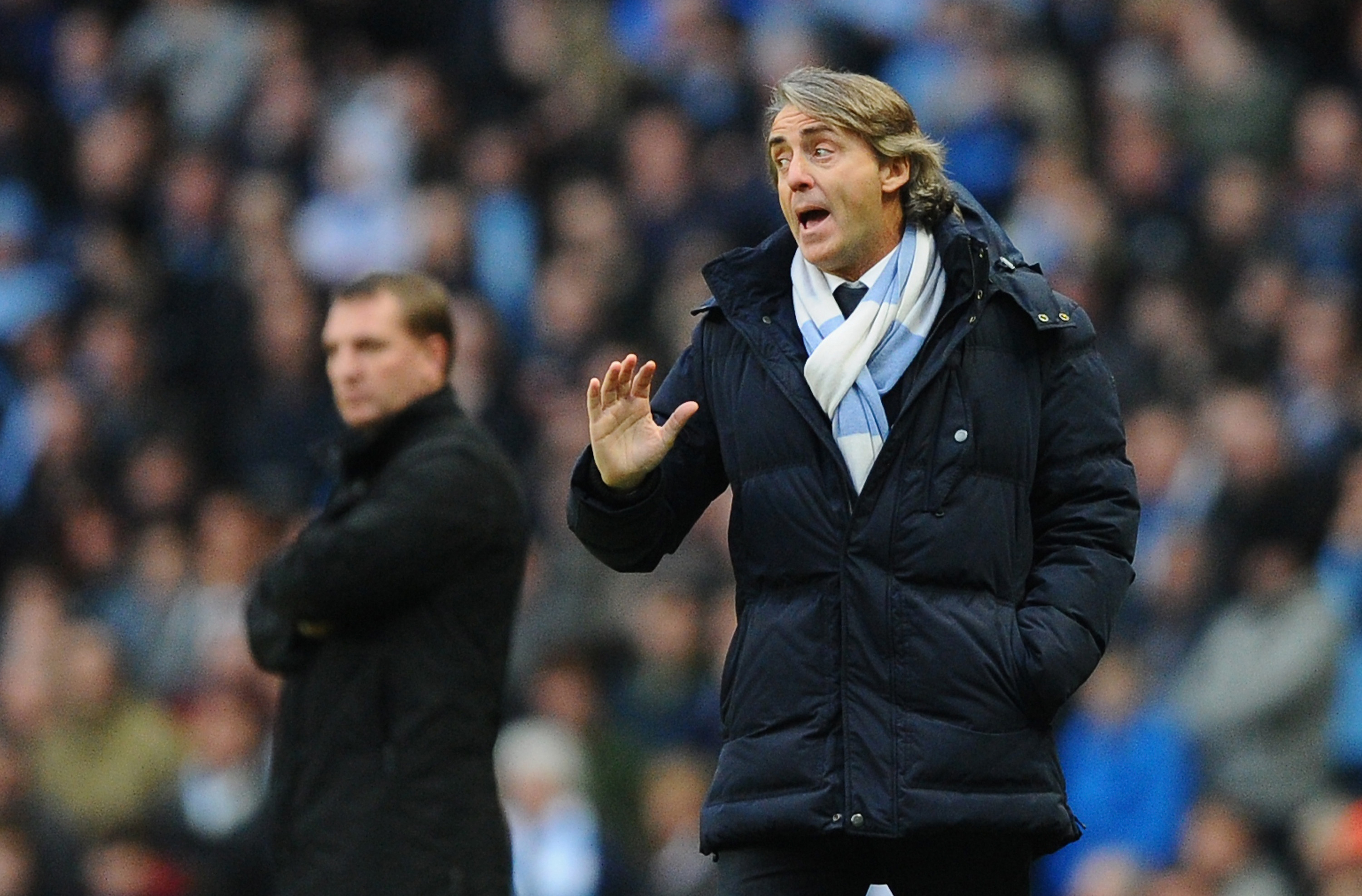 Roberto Mancini refuses to give up on Premier League title despite Liverpool draw