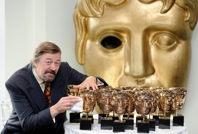 Stephen Fry BAFTA Awards