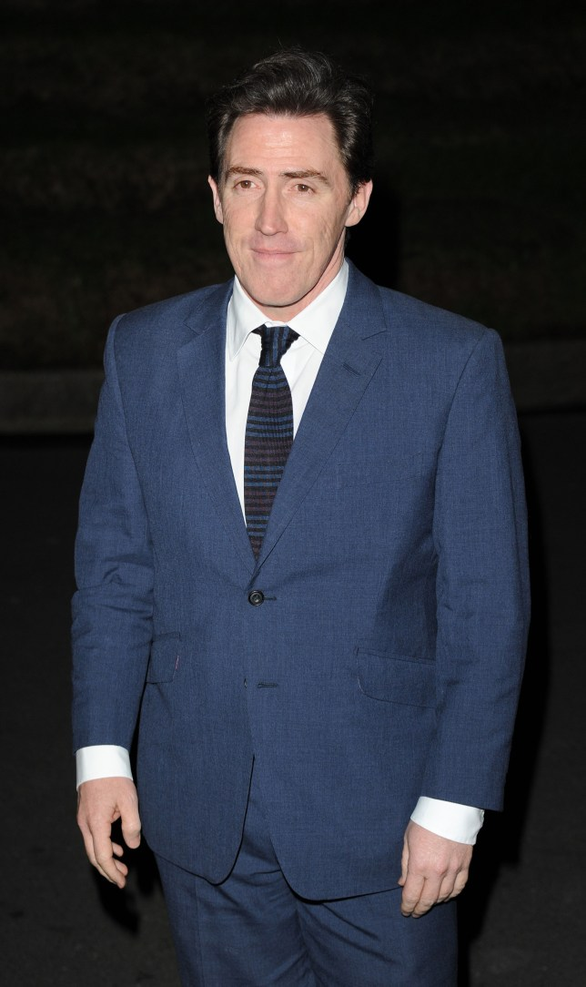 Bad taste: Rob Brydon made an insensitive comment about Stephen Fry at the GQ Awards (Picture: Getty)